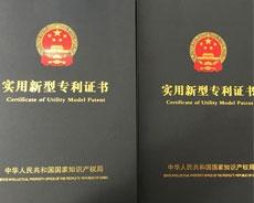 祝贺公司获得国家知识产权局颁布的专利证书