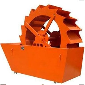轮斗式洗砂机